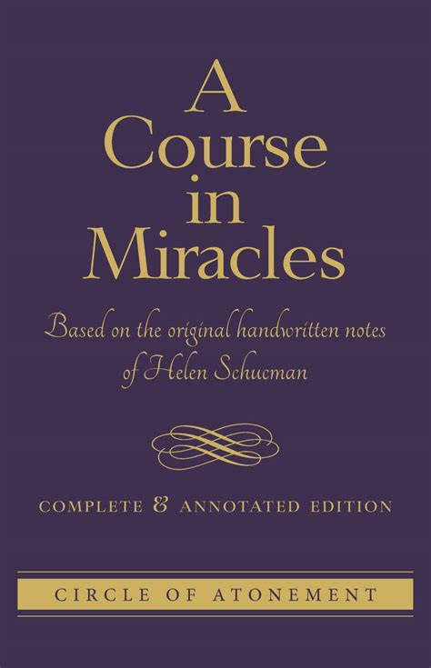 [pdf] A Course In Miracles Complete And Annotated Edition.